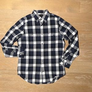 Classic Plaid Shirt Slim Fit LRG